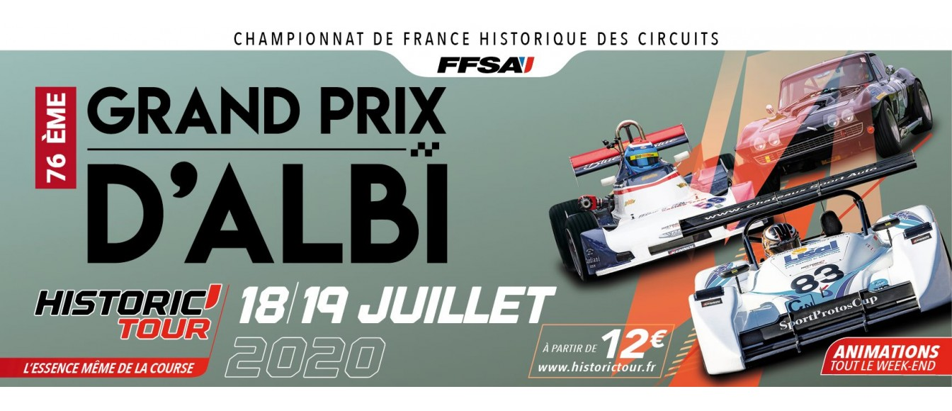 Grand Prix d' Albi - HISTORIC TOUR